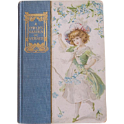 "Early 1900's Decorative Book ~ ""A Child's Garden of Verses"" ~ Robert Louis ..."