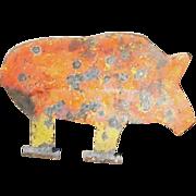 Steel Pig Target
