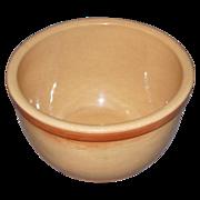Vintage Yellow Ware Eve-N-Bake Watt Oven Ware Bowl