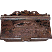 SALE Self Closing Match Safe – 1864