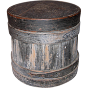 Early Covered Bucket or Firkin