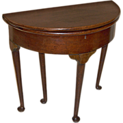 SOLD 18th Century Queen Anne Game Table