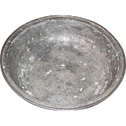 Antique Pewter Basin by COMPTON