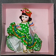SALE Madame Alexander International Series Brazil Doll #573
