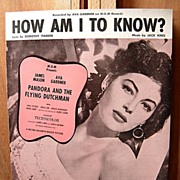 How Am I To Know?  – 1929