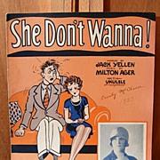 She Don't Wanna – 1927