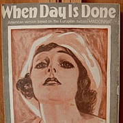 When Day Is Done – 1926