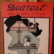 Dearest You're The Nearest To My Heart – 1922