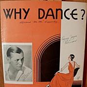 Why Dance – 1931