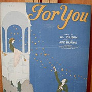 For You – 1930