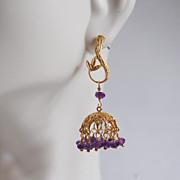 Rubelite Small Chandelier Dangle Earrings