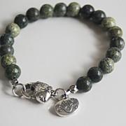 Men's Bracelets - Men's Jewelry - Men's Russian Obsidian Bracelets- Beaded bracelet- Unisex ..