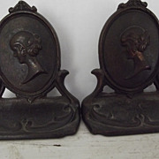 Cameo Bookends
