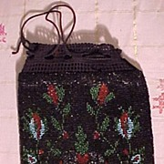 SALE Nice Old Beaded Bag