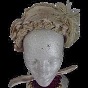 Victorian Bonnet For Child, Doll