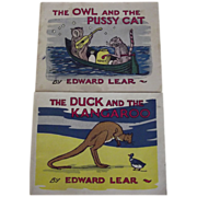 The Owl and the Pussycat,The Duck and the Kangaroo