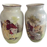 Early Royal Doulton Vases