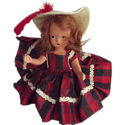 Nancy Ann Storybook doll One, Twp buckle My Shoe