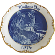 Dresden Mother's Day Plate 1974