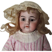 SALE Open Closed Mouth  Kid Bodied Cabinet Size Doll