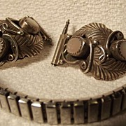 Fancy Sterling Ladies Watch Band