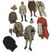 Edwardian Boy Paper Doll