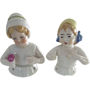 Pair of Pincushion Children
