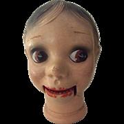 Charlie McCarthy Doll Head