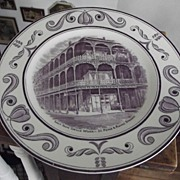 SALE Scenes of OLd New Orleans Plate