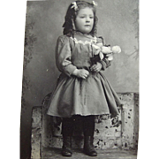 SOLD Small Photo Post Mortem Child