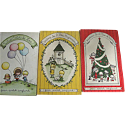 SOLD Three Joan Walsh Anglund Books, Christmas Is A Time of Giving, Spring Is A New Beginning,