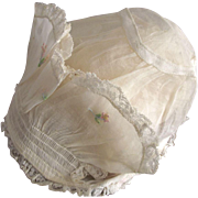 Organdy Bonnet For Baby or Large Doll