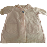 Vintage Baby Doll Flannel Coat