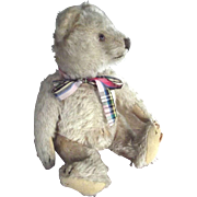 SALE Early Straw Stuffed Old Bear