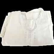 Cotton Toddler's Dress 1930's