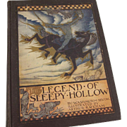 The Legend Of Sleepy Hollow, Arthur Rackham Illustrations