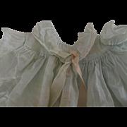 Pale Blue 1950's Doll Dress, Ribbon Trim