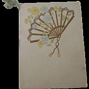 Victorian Program From Philadelphian Society of Kimball U. Academy In Meridian New Hampshire