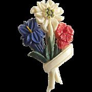 Flower Pin Vintage
