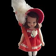 Plastic Nancy Ann Story Book Valentine Sweetheart