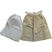 Two Half Slips for Baby Dolls