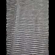 Black Mesh or Netting Like Material