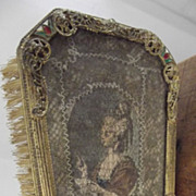 SALE Fancy  Brush With Enamel and Ormolu