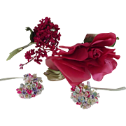 Red Flowers and Pastel Flowers