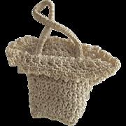 Vintage Crocheted Doll Purse