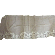 Net and Openwork Mantel Cover