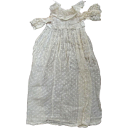 Gown For A Baby Doll