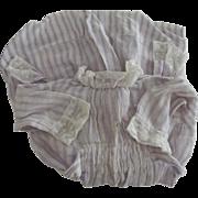 Lavender Stripe Doll Dress