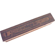 Early Wood Pencil Box