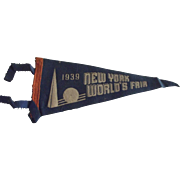 1939 World's Fair Pennant